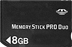 Image of Memory Stick PRO Duo