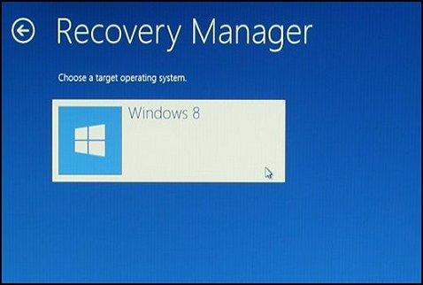 formatting windows 8 recovery