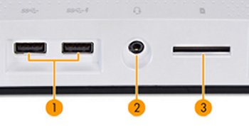 AmeeT bottom I/O ports