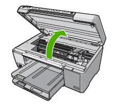 Carrello bloccato stampante hp