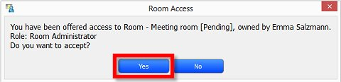 Image of a Room Access offer notification