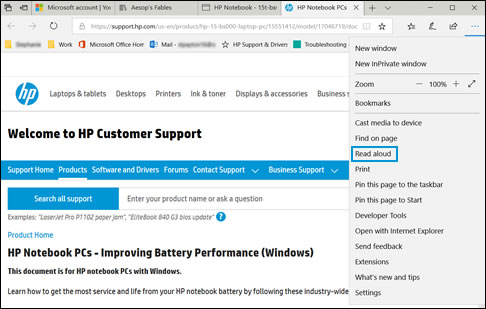 hp pcs windows 10 accessibility options hp customer support