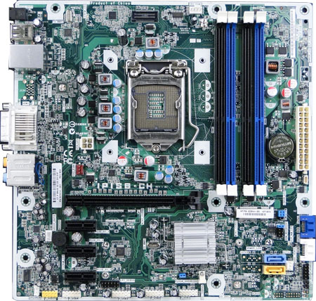 HP and Compaq Desktop PCs - Motherboard Specifications, (Cleveland