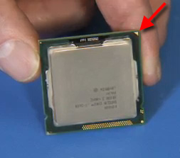 Pin 1 position on CPU