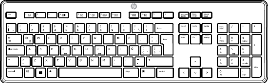 Latin American keyboard