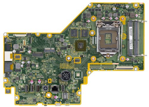 Palau-4GF motherboard top view