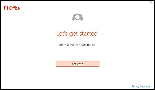 masalah microsoft excel product activation failed