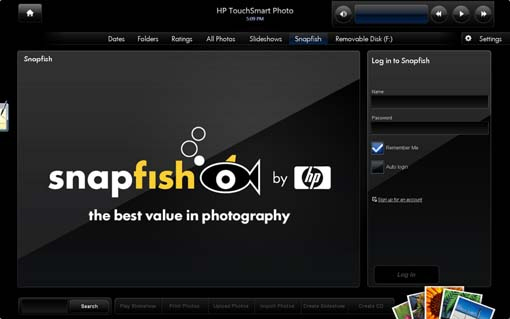 Upload photos to Snapfish