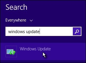 turn off auto update windows 8