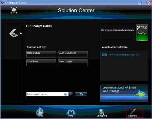driver hp scanjet g2410