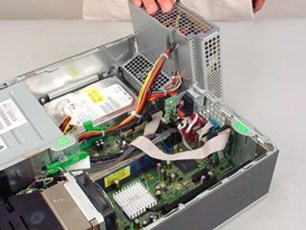 HP Compaq dc7800 Small Form Factor PC - Removing and