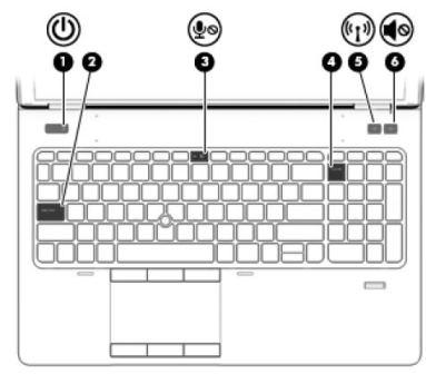 HP ZBook Studio G3 Wireless Button Windows 8 X64