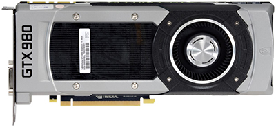 NVIDIA GeForce GTX 980 graphics card