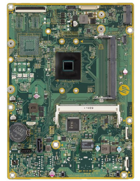 Oahu-U motherboard top view