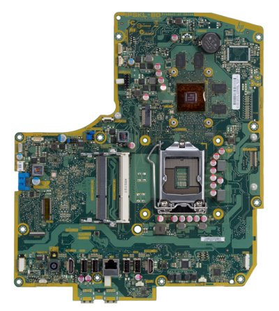 Bulldozer-4GT motherboard top view