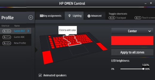 HP Notebook PCs - Using the HP OMEN Control Software to Customize
