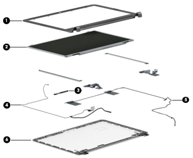 HP 350 G1 Notebook PC - Spare Parts | HP® Customer Support