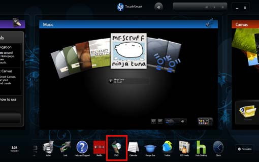 New Hp touchsmart Iq500