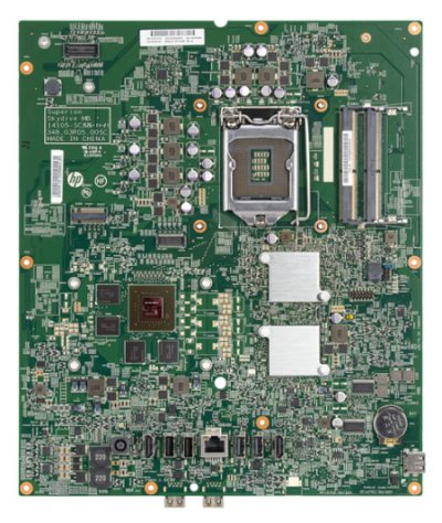 Top view of Skydive-2GS motherboard