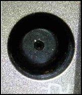 Pin conector de CC en el equipo