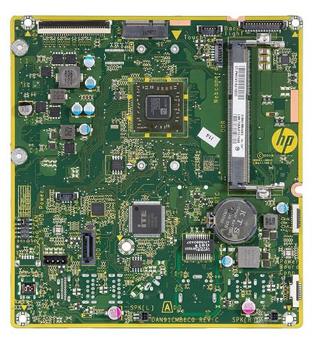 Bali-U motherboard top view