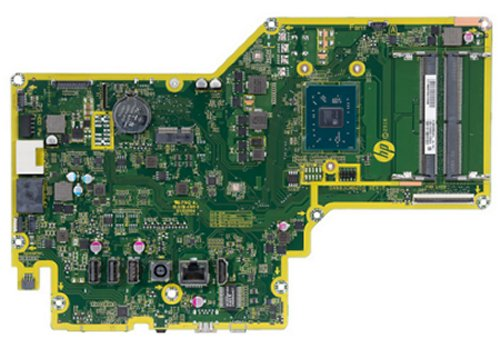 The Samui-A6 motherboard top view