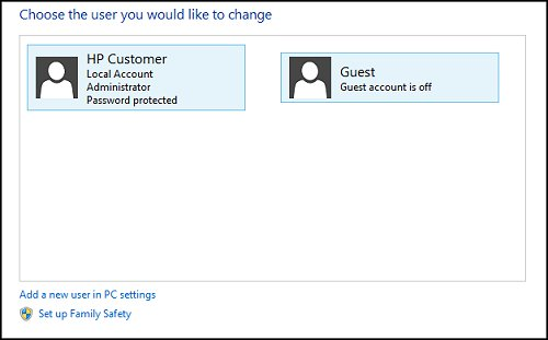 add password to guest account windows 8