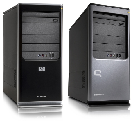 HP and Compaq desktop computers