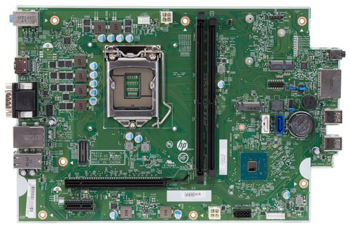 Menlo motherboard top view