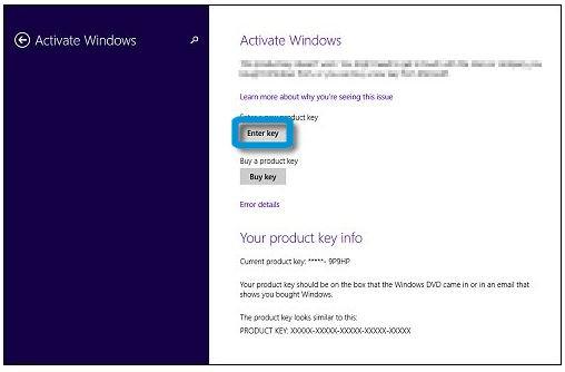 claves de windows 8 1