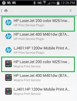 Any HP Printer And The Mopria Print Solution Can Be Used With Both Printers From Other Manufacturers You Might See Service