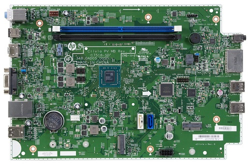 CliviaA9 motherboard top view