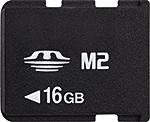 Image of Memory Stick Micro (M2)
