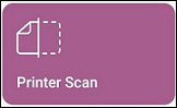 Printer Scan tile