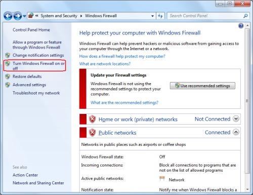файрвол windows 7 - фото 5
