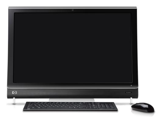 fe20f884476 HP TouchSmart IQ500 and IQ800 Series Desktop PCs - Wireless Keyboard ...