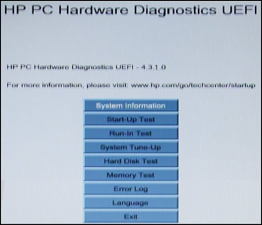 HP ENVY 23-d001ee TouchSmart Hardware Diagnostics UEFI Download Drivers