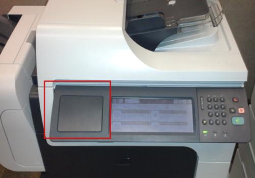 Hp Laserjet Install The Hp Multi Protocol Proximity Card