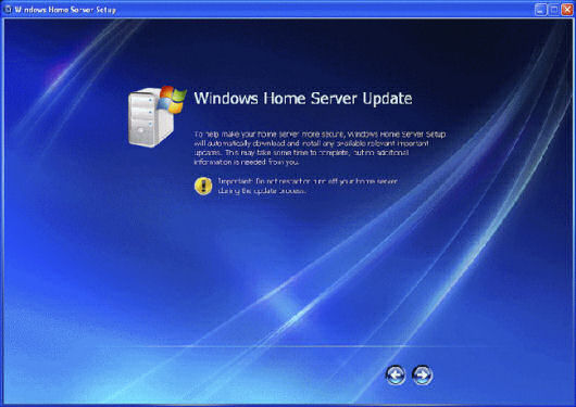 Windows Home Server Updates
