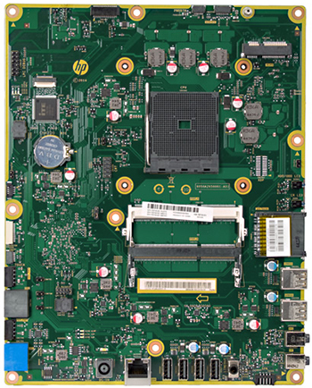 Boa motherboard top view