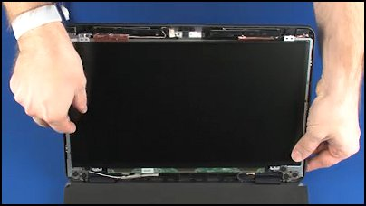 Lifting the display panel