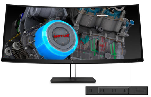 HP Z38c 37.5-in Curved Display