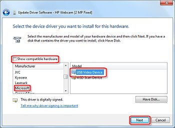 Driver for HP G60-237NR Notebook Lite-On Web Camera