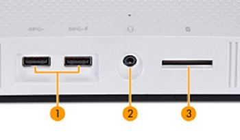 SunstreakerT bottom I/O ports
