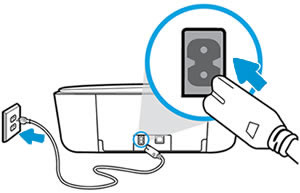 Conectar el cable de alimentación