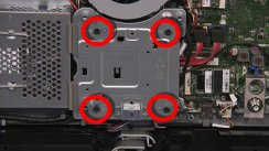 Four VESA mount screws