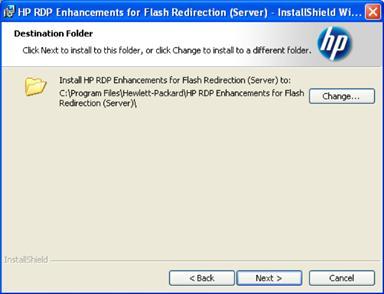 HP ThinPro USB and Multi Media Redirection Treiber Windows 7