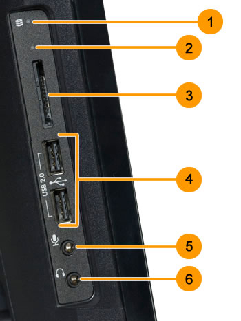 Image of left I/O ports