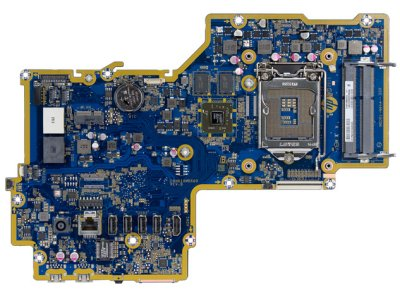 Top view of Crane-4G motherboard