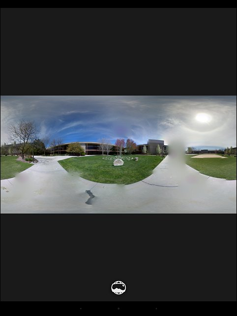 Photo Sphere in the Gallery app